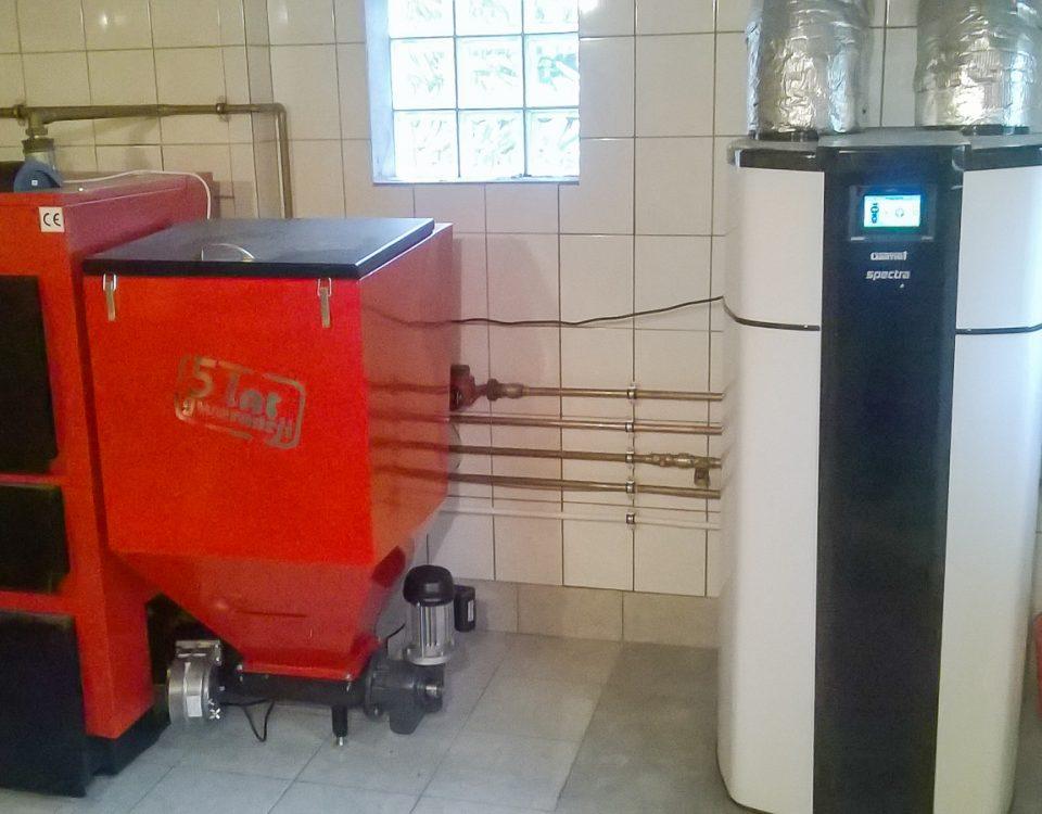 Modernizacja kotłowni w Świerkówkach